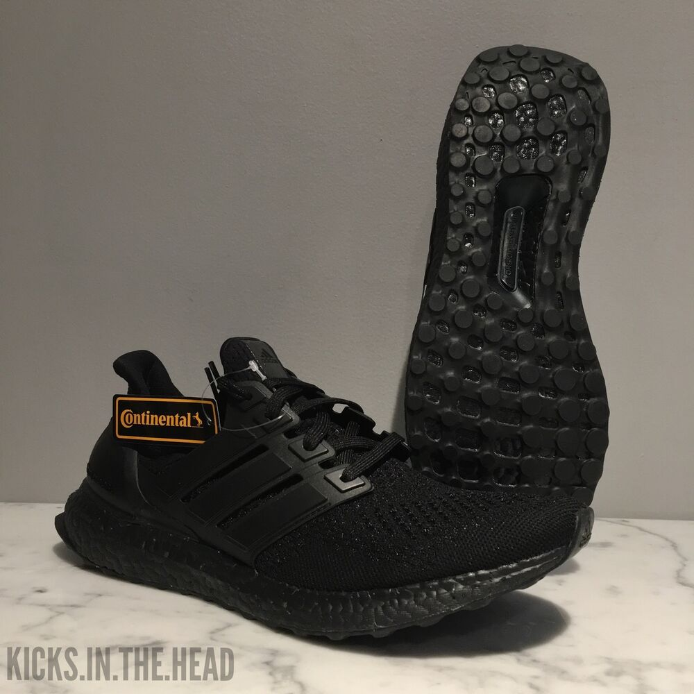 ccd7e6acd345c Details about adidas Ultra BOOST 1.0 LTD  Triple Black  - Size 7 - BB4677 -  FRIENDS AND FAMILY