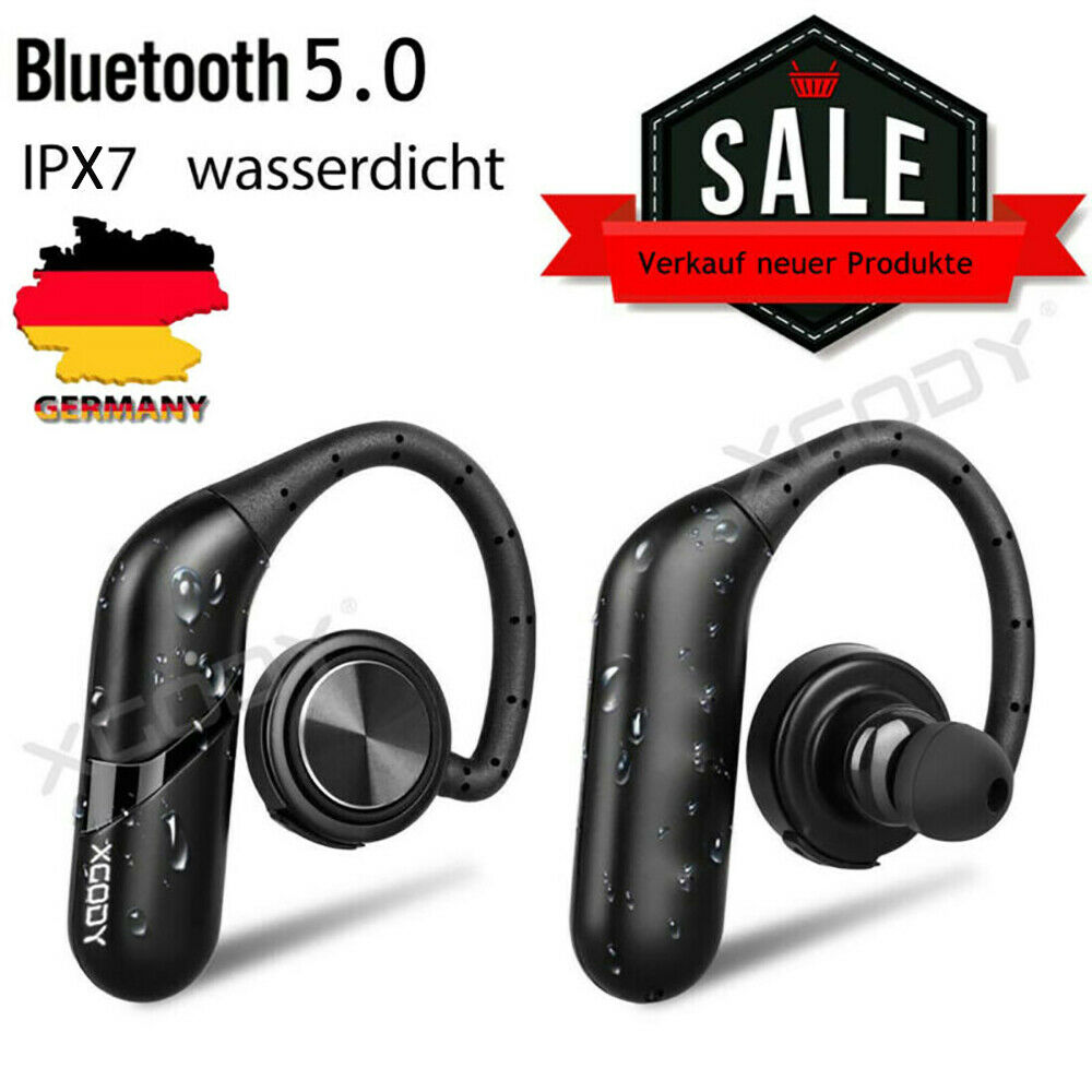 wasserdicht bluetooth kopfh rer wireless stereo sport ohrh rer in ear headset ebay. Black Bedroom Furniture Sets. Home Design Ideas