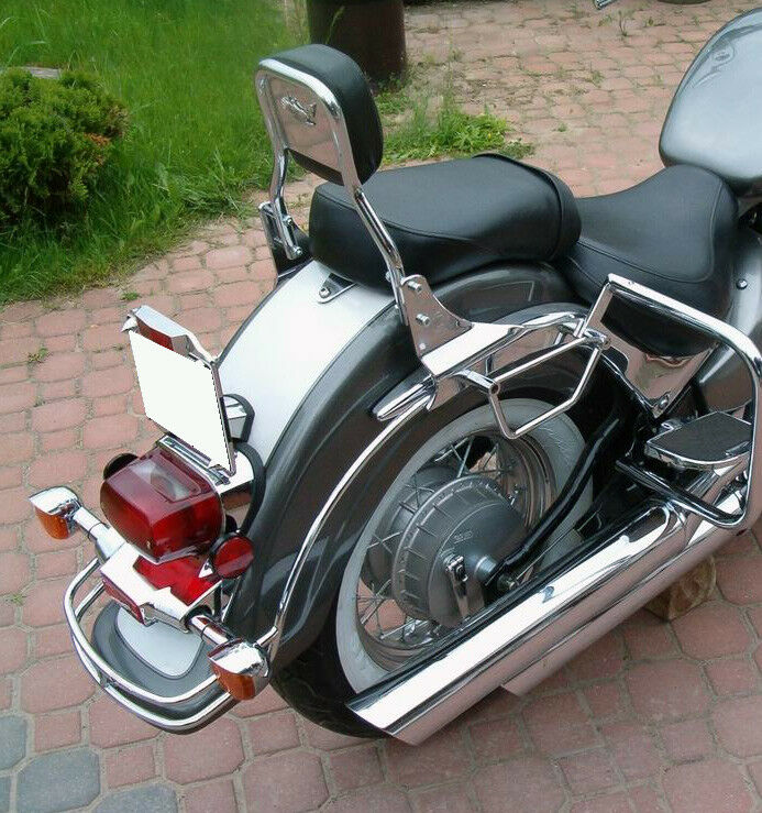suzuki vl800 volusia c50 boulevard c800 rear chrome fender. Black Bedroom Furniture Sets. Home Design Ideas