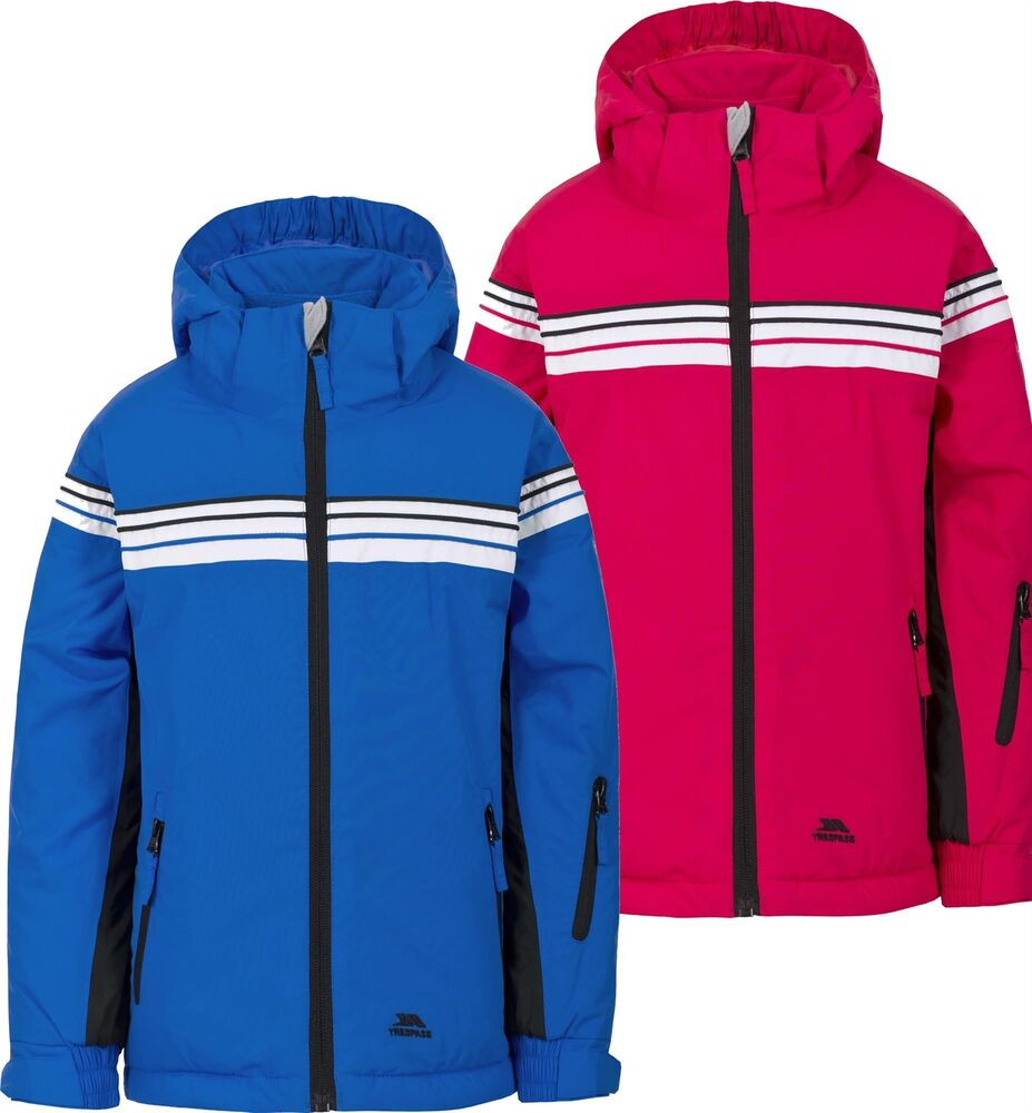 09365e8db Details about Trespass Priorwood Kids Ski Jacket Waterproof Breathable  Insulated TP75