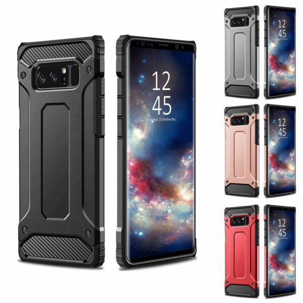 Hybrid Armor Case For Samsung Galaxy S7 S8 S9 + Shockproof Rugged Bumper Cover