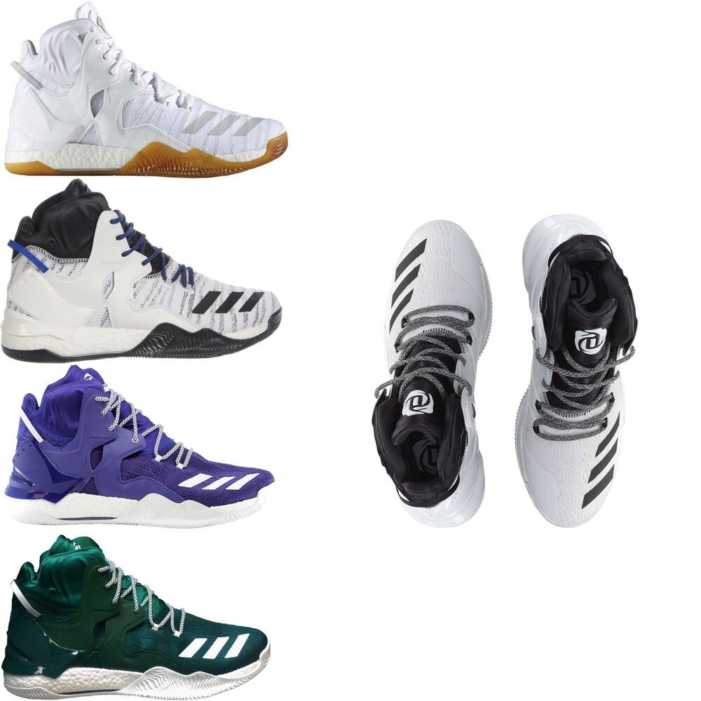 more photos 8e376 4d1d8 Details about Adidas Men s Athletic Sneakers Derrick Rose 7 Basketball Shoes  NEW