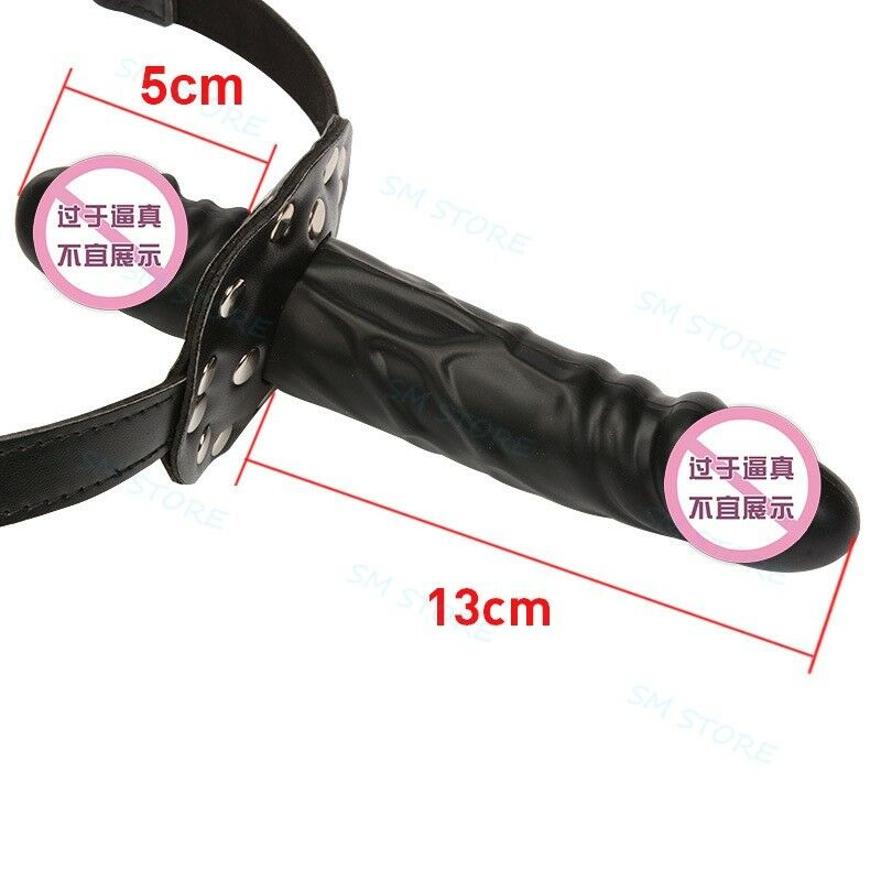 Details about Lesbian Strap On Harness Double Dildo Panty Roleplay  Ajustable Chastity Plug