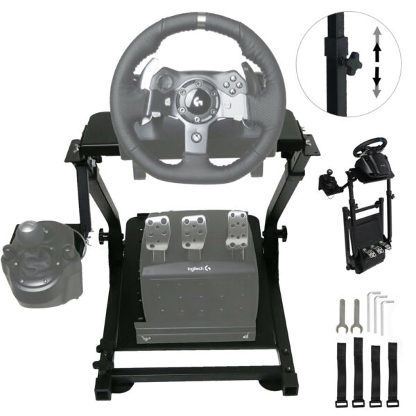 Support de Volant Wheel Steering Stand for Logitech G920 Racing Wheel Shifter V2