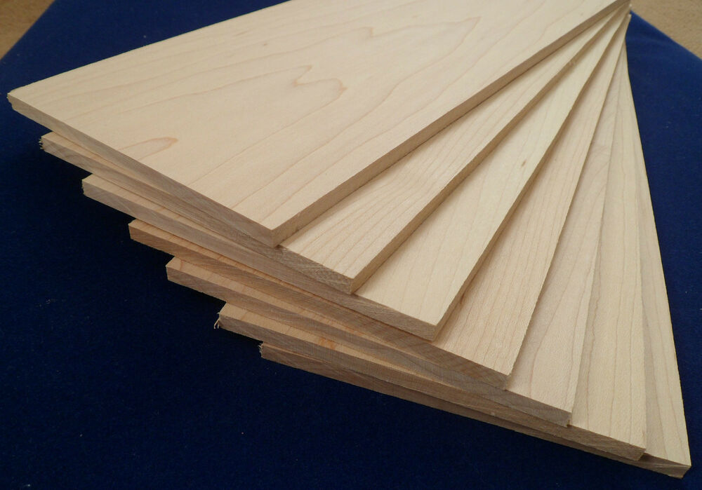 1 215 Solid Maple Wood Sheets 4mm 6mm Or 8mm Laser Cutter
