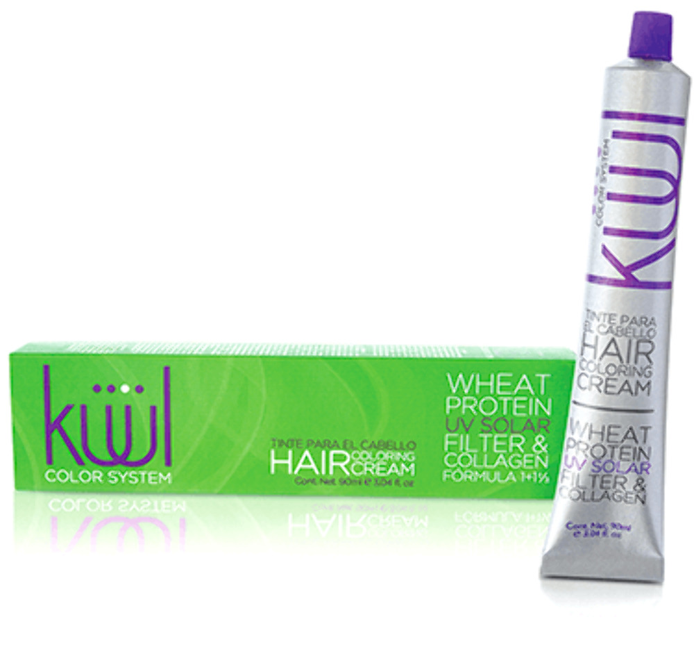 Kuul Color Cream Hair Color Reflects Violet Red 3.04 oz ...