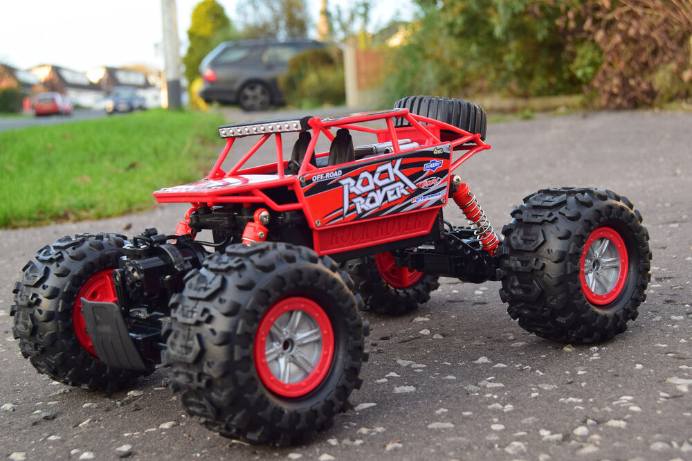 4wd rock rover 2 4ghz 3in1 rc radio remote control car off road water snow land ebay. Black Bedroom Furniture Sets. Home Design Ideas