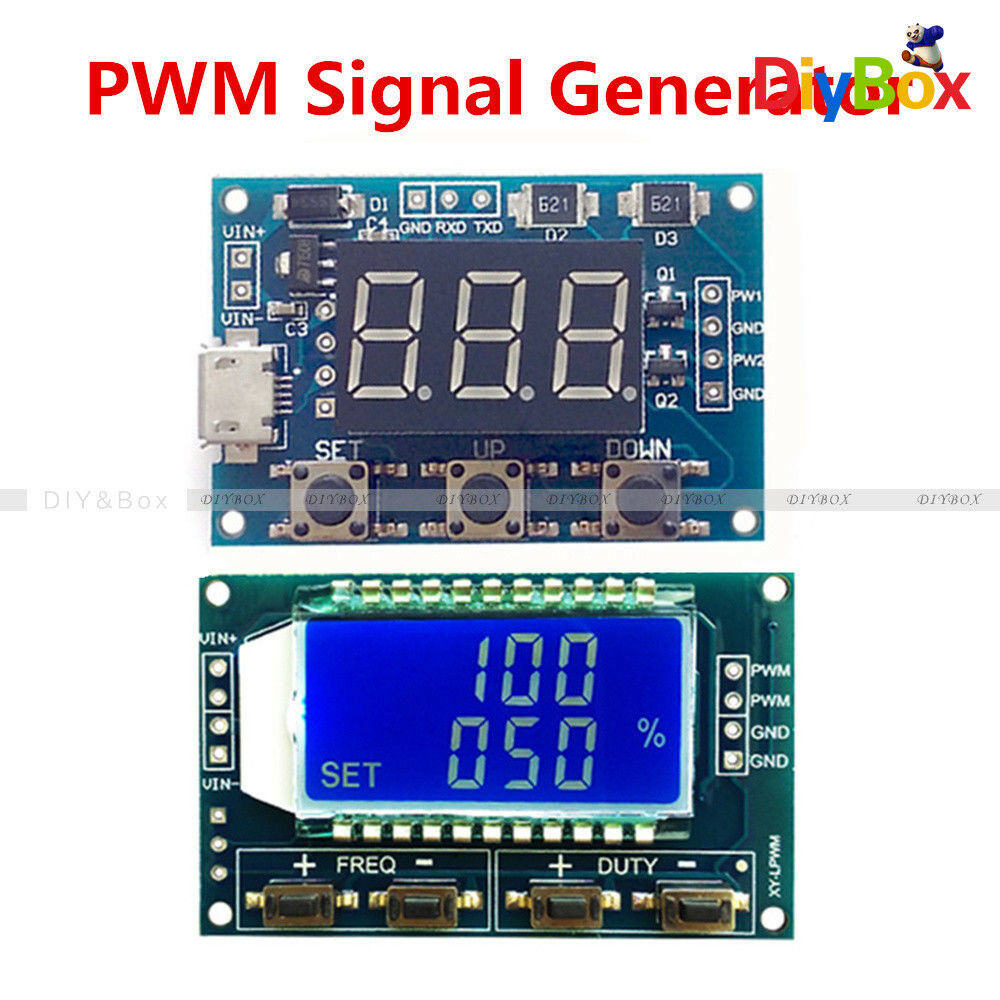 Signal Generator Module Adjustable PWM Pulse Frequency