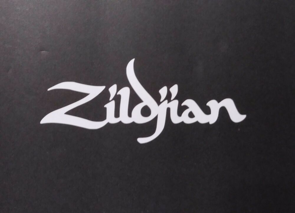 Zildjian vinyl decal for laptop windows wall car boat ebay