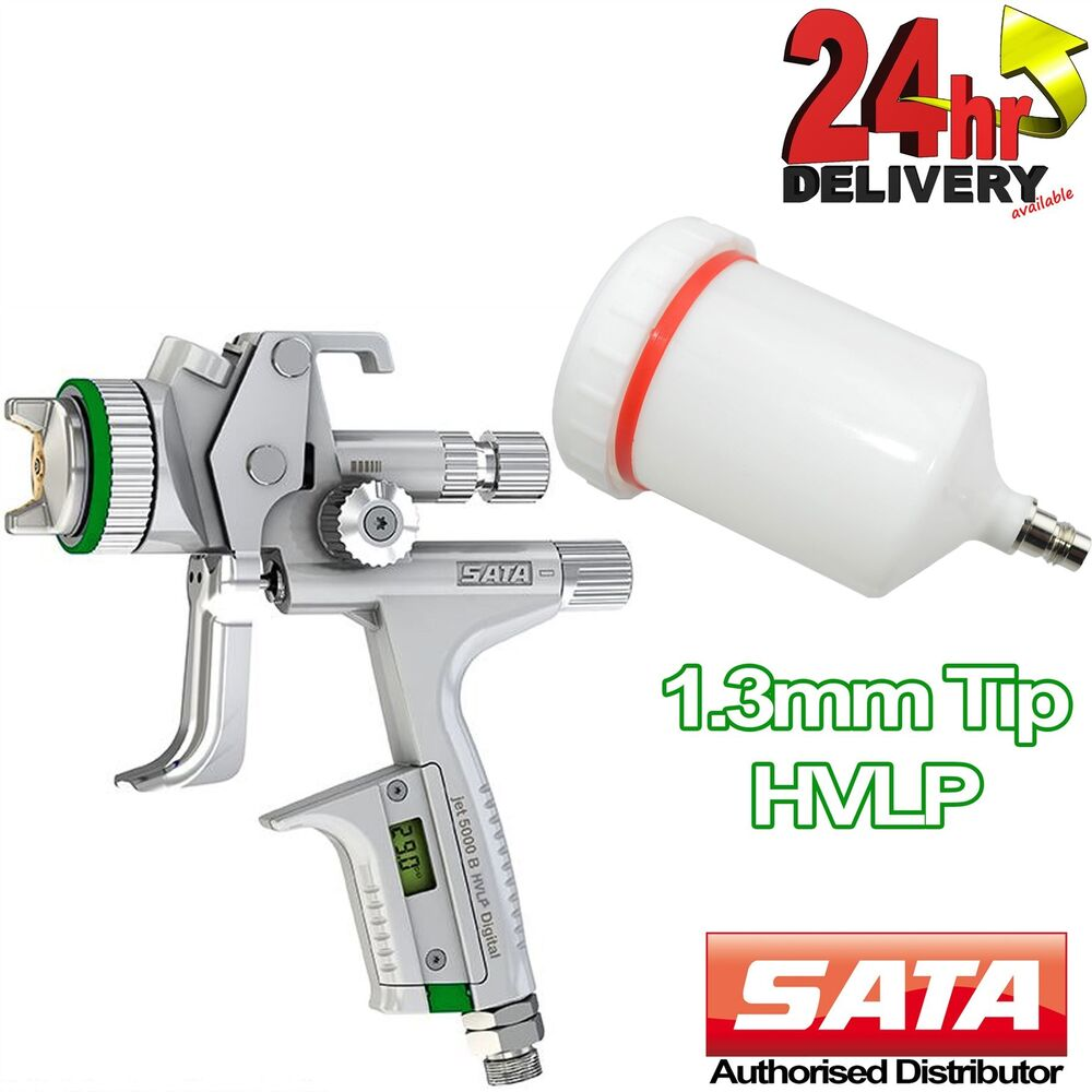 sata jet 5000 b hvlp nozzle tip digital guage. Black Bedroom Furniture Sets. Home Design Ideas