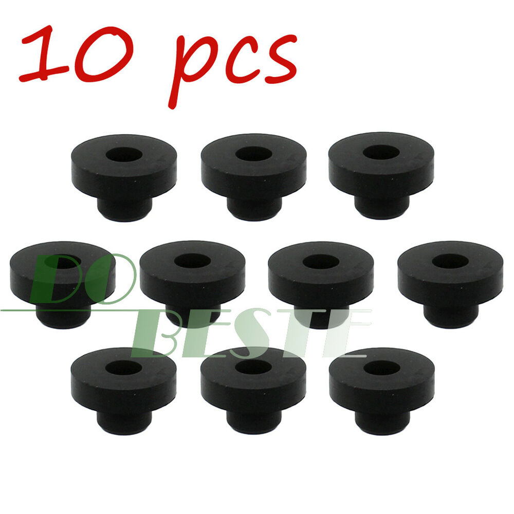 10 Pack Universal Gas Fuel Tank Grommet Bushings F Tractor