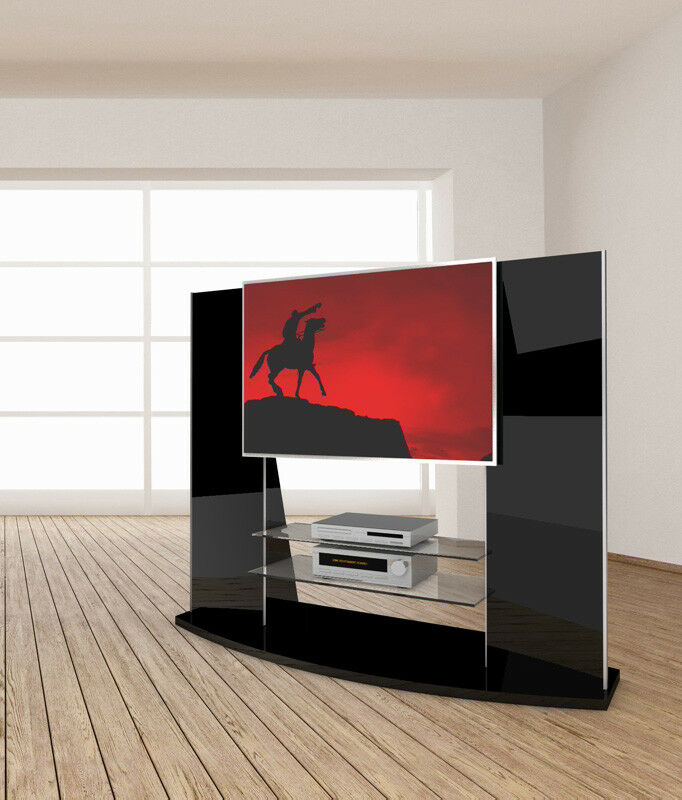 casado rotator conforte lowboard tv tisch fernsehtisch fernsehschrank drehbar ebay. Black Bedroom Furniture Sets. Home Design Ideas