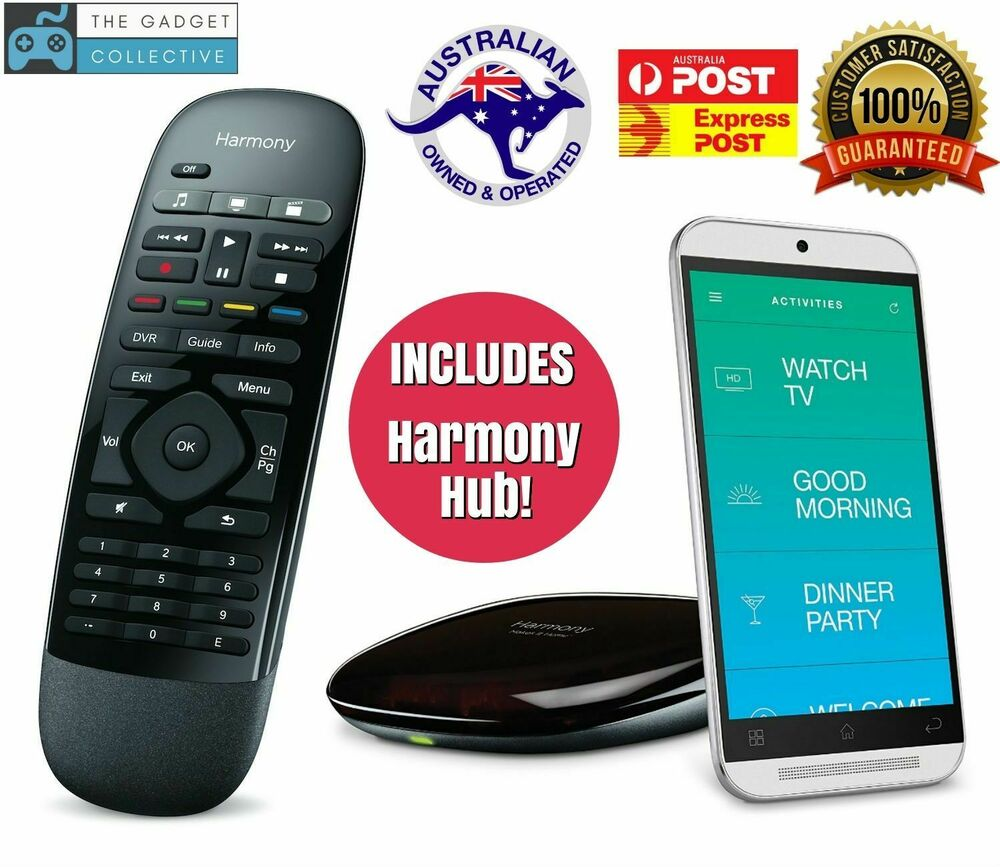 76969c0bd7b Details about Logitech Harmony Smart Control with Smartphone App + Harmony  HUB + Remote