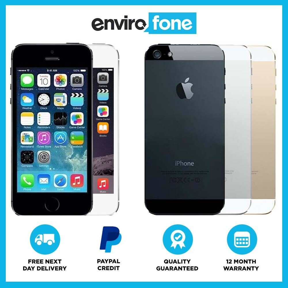 iphone 5s 64gb apple iphone 5s 16gb 32gb 64gb grey silver gold unlocked 11156