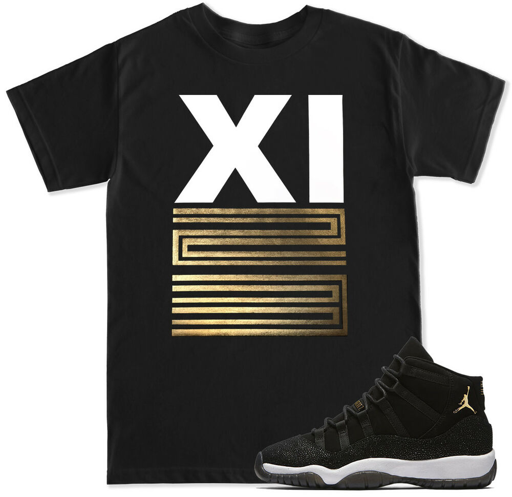 air jordan 11 all black everything shirt