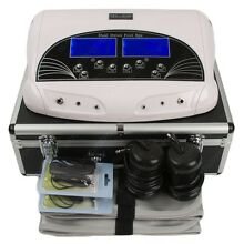 Professional Dual LCD Ionic Detox Foot Bath & Spa Machine with Case 2019 Model