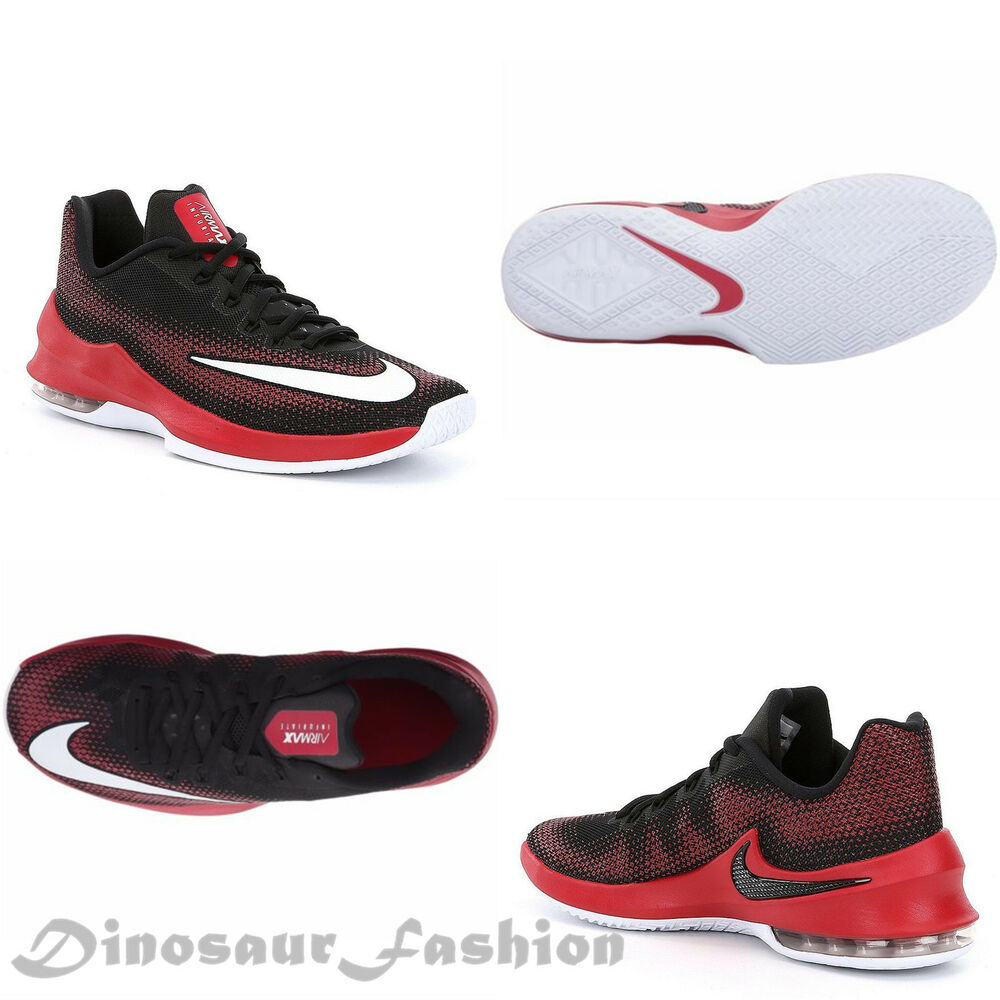 639b1e23d Details about NIKE AIR MAX INFURIATE LOW  852457-006  Men s Basketball  Shoes