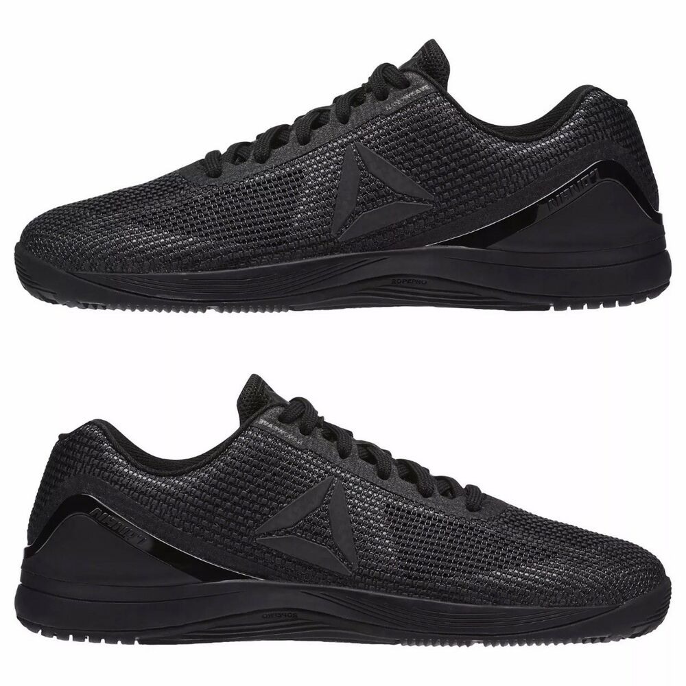 3cb758000f74f0 Details about Reebok Men s CrossFit Nano 7.0 Training Shoes Size 10.0 US  Black NEW in box