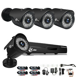 Kyпить XVIM 5in1 4CH 1080P DVR 1920TVI IR Night Vision Home Security Camera System US на еВаy.соm