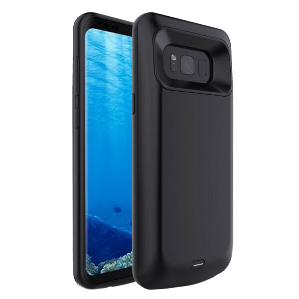 External Battery Case Cover Pack Charger For Samsung Galaxy S7 Edge S8 S8 Plus