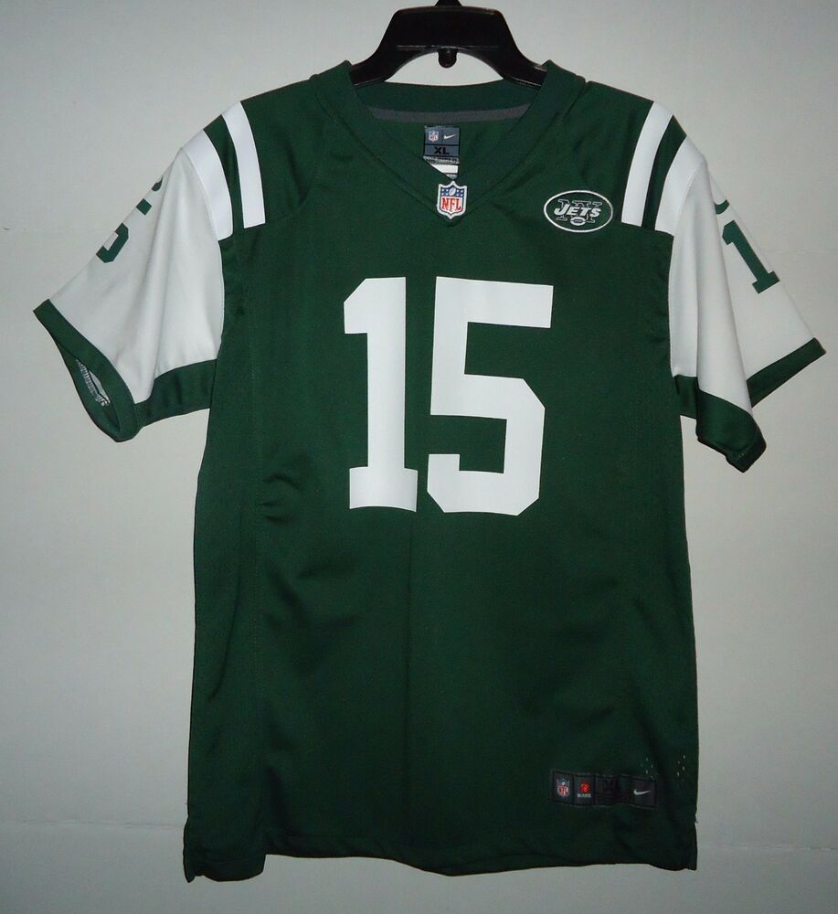 Details about Nike On Field NFL New York Jets Youth Sz XL Tim Tebow 15  Football Jersey b4b9b7190