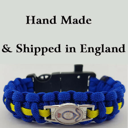 img-Royal Horse Artillery (RHA) Badged Survival Bracelet Tactical Edge.