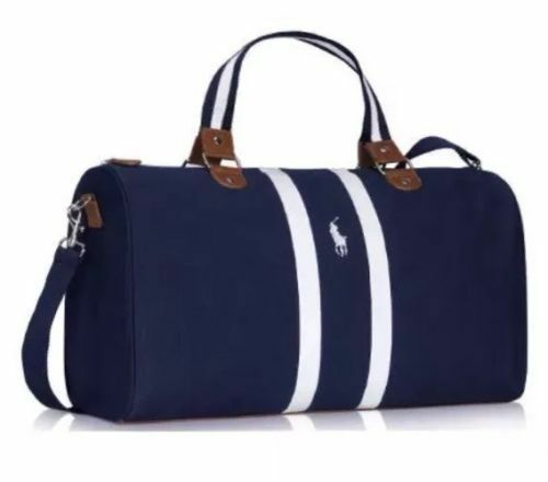 0e06355e76a Details about BRAND NEW RALPH LAUREN PARFUMS POLO BLUE WEEKEND   TRAVEL    HOLDALL   SPORT BAG