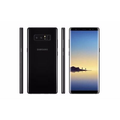 "New Imported Samsung Galaxy Note 8 Duos 256gb 6gb 6.3"" Dual Cam 12mp 8mp Black"