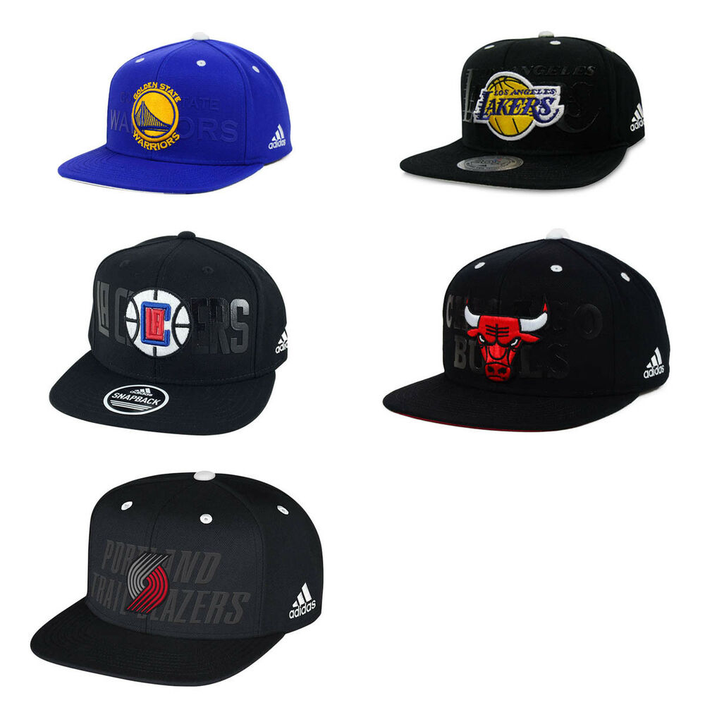 b0b9f53bb82 Details about Adidas NBA Draft Snapback Hat Cap (More teams!)