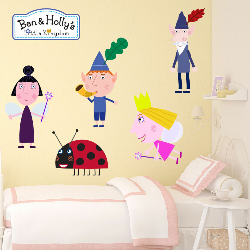Ben and holly wall stickers image collections home wall ben and holly wall stickers image collections home wall ben and holly little kingdom kids boys amipublicfo Images