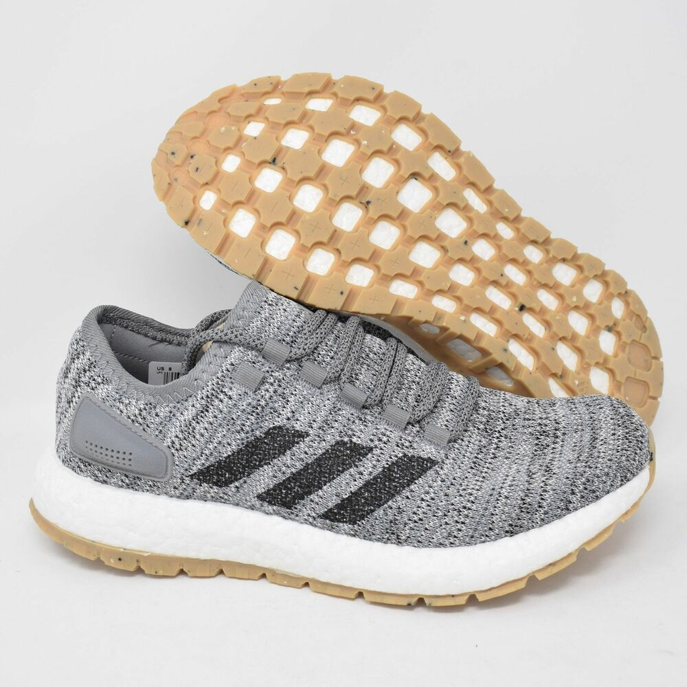 on sale aabe4 d91fa Details about Adidas PureBOOST All Terrain S80783 Mens Running Shoes Black  White Grey