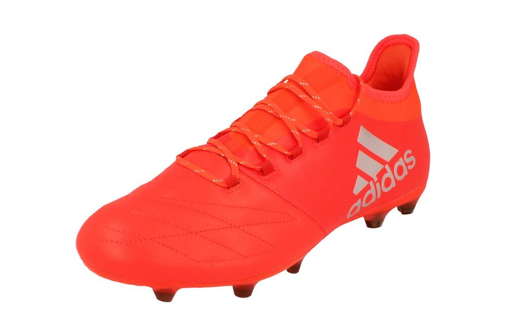 f300523f7 Details about Adidas X16.2 FG Leather Mens Football Boots Soccer Cleats  S79544