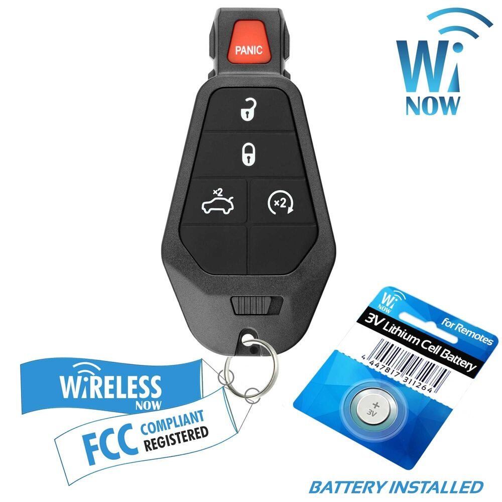 Car Key Fob Keyless Entry Remote 5B For 2008 2009 2010