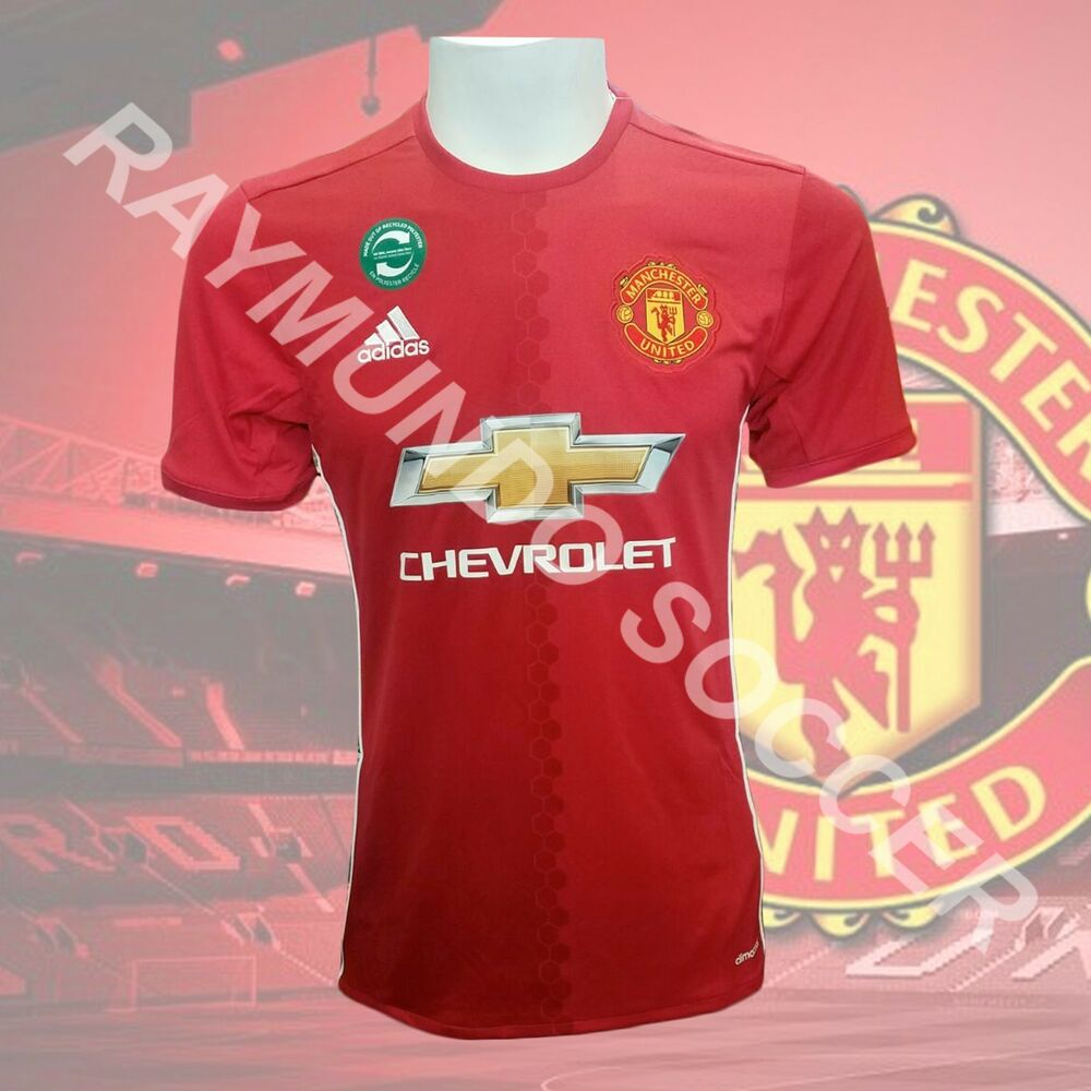 5f470681e Adidas Men s Manchester United 2016 17 Home Jersey