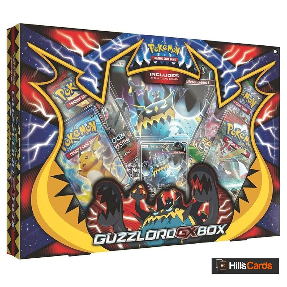 Pokemon: Guzzlord GX Collection Box: Inc 4 Booster Packs
