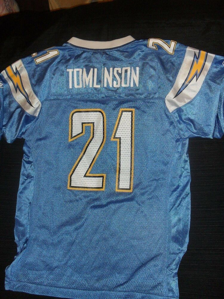 0e32f8673 LaDainian Tomlinson San Diego Chargers Reebok NFL Jersey Youth L (14-16)