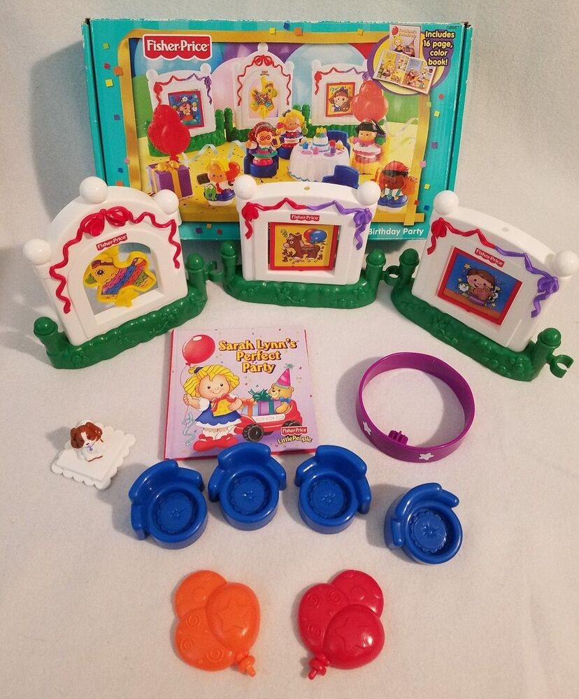 Fisher Price Little People Musical Birthday Party