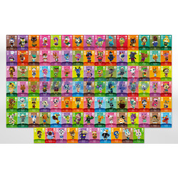 NEW Animal Crossing Amiibo Cards AUTHENTIC - Series 3 (#201-300) [US] YOU PICK!