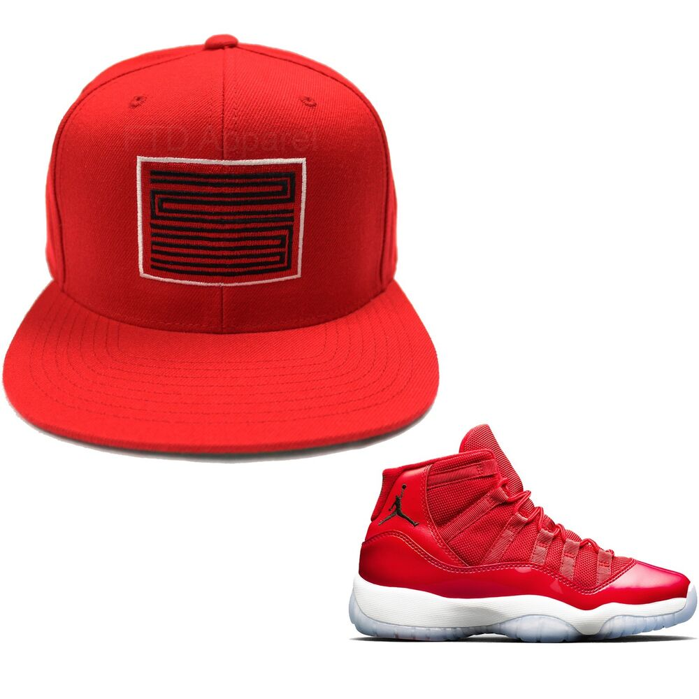 0cf4d2a2cf3e Details about Win Like 96 SNAPBACK HAT to match with Air Jordan 11 Win Like  96 Shoes T Shirt