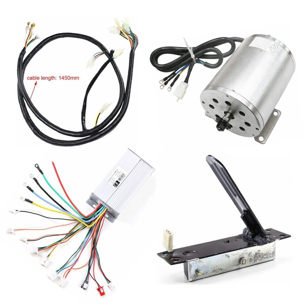Amazing 1800W 48V Dc Brushless Motor Speed Controller Foot Pedal Wire Wiring Cloud Hisonuggs Outletorg