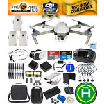 DJI Mavic Pro Platinum Fly More Combo Bundle With Carry Case + Much More