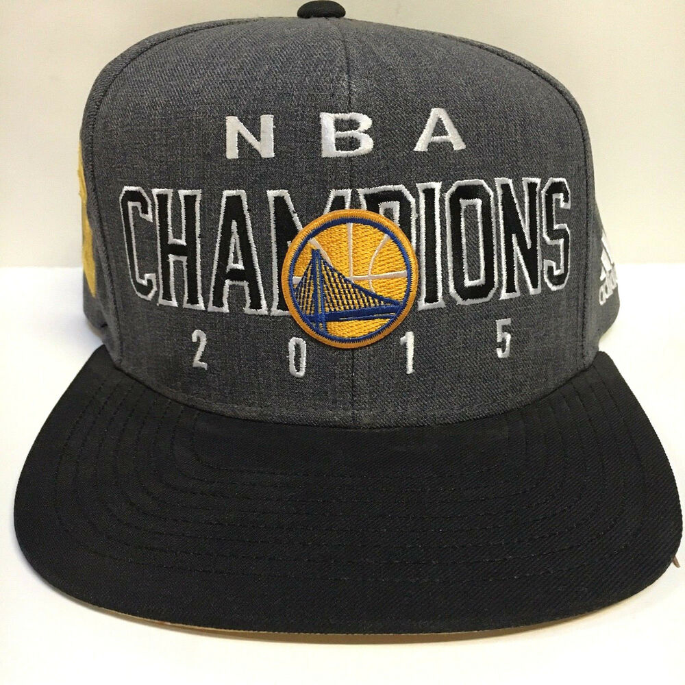7c7a8fcb7e2c8 Details about Adidas Golden State Warriors Champions Snapback Hat Cap