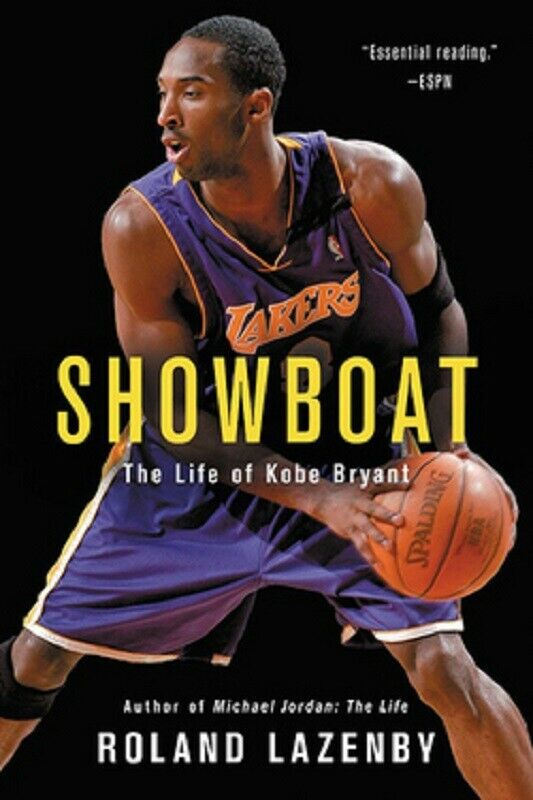 62d19568d3b Details about Showboat : The Life of Kobe Bryant Biography by Roland  Lazenby Hardcover Book