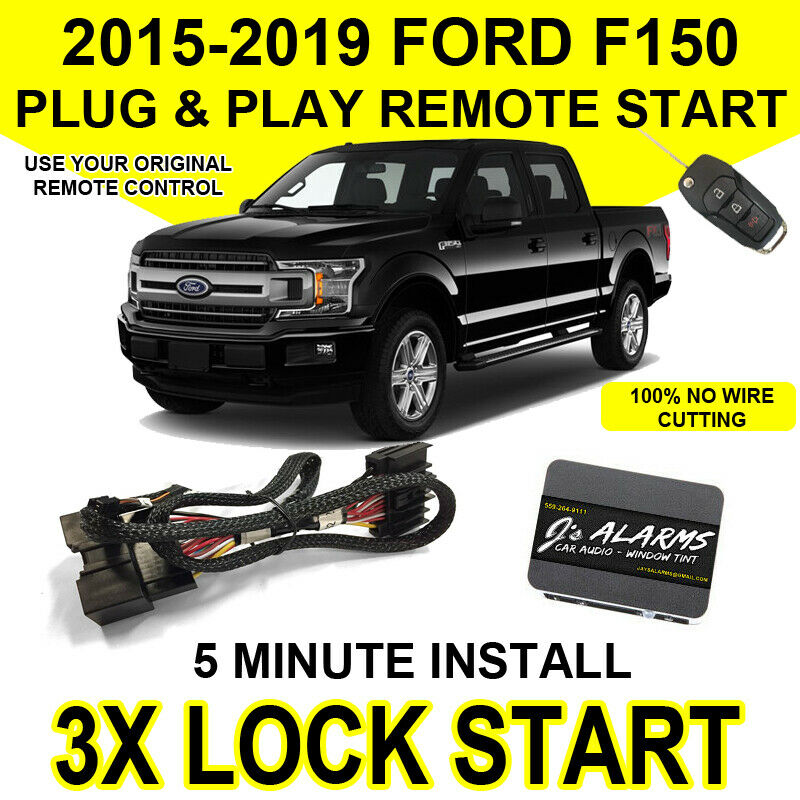 2015 2018 Ford F 150 Remote Start Plug And Play Easy