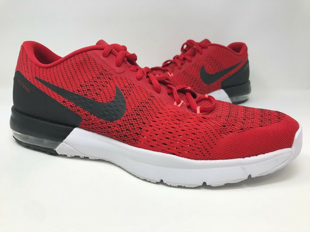 New! Men's Nike 820198-608 Air Max Typha Training Shoes - Red/Black A29