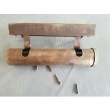 Antique Barber Chair Head Rest Paper Holder <THE KANDLE>