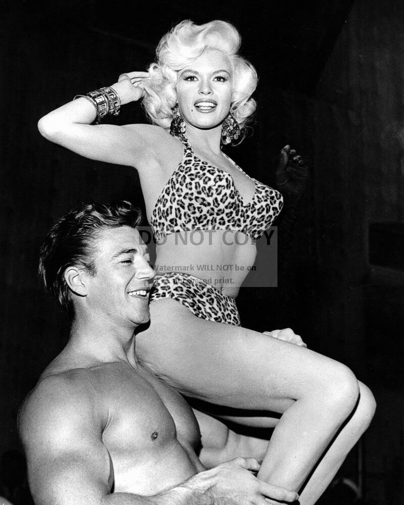 JAYNE MANSFIELD AND HUSBAND MICKEY HARGITAY - 8X10 ...