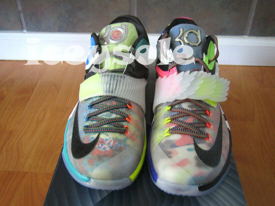 Nike Kd  VII SE What The Kd 7 Multi Color Black Horizon MVP OKC Size 10