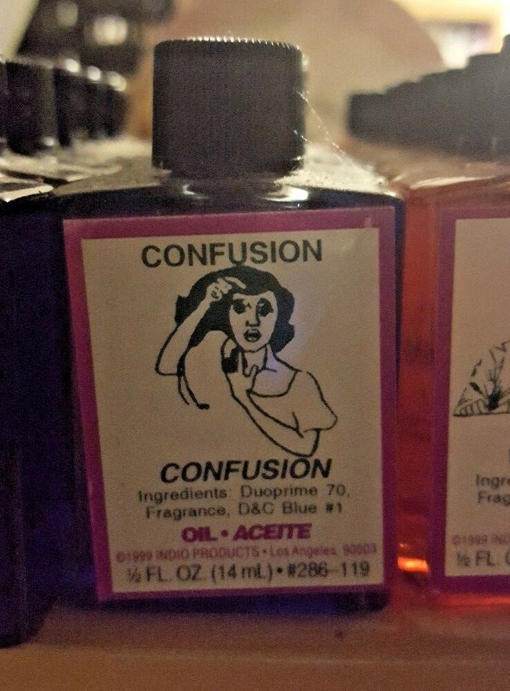 CONFUSION Ritual Oil Spells Wicca PAGAN Witchcraft Hoodoo 1/2 OZ Occult  SPELL | eBay