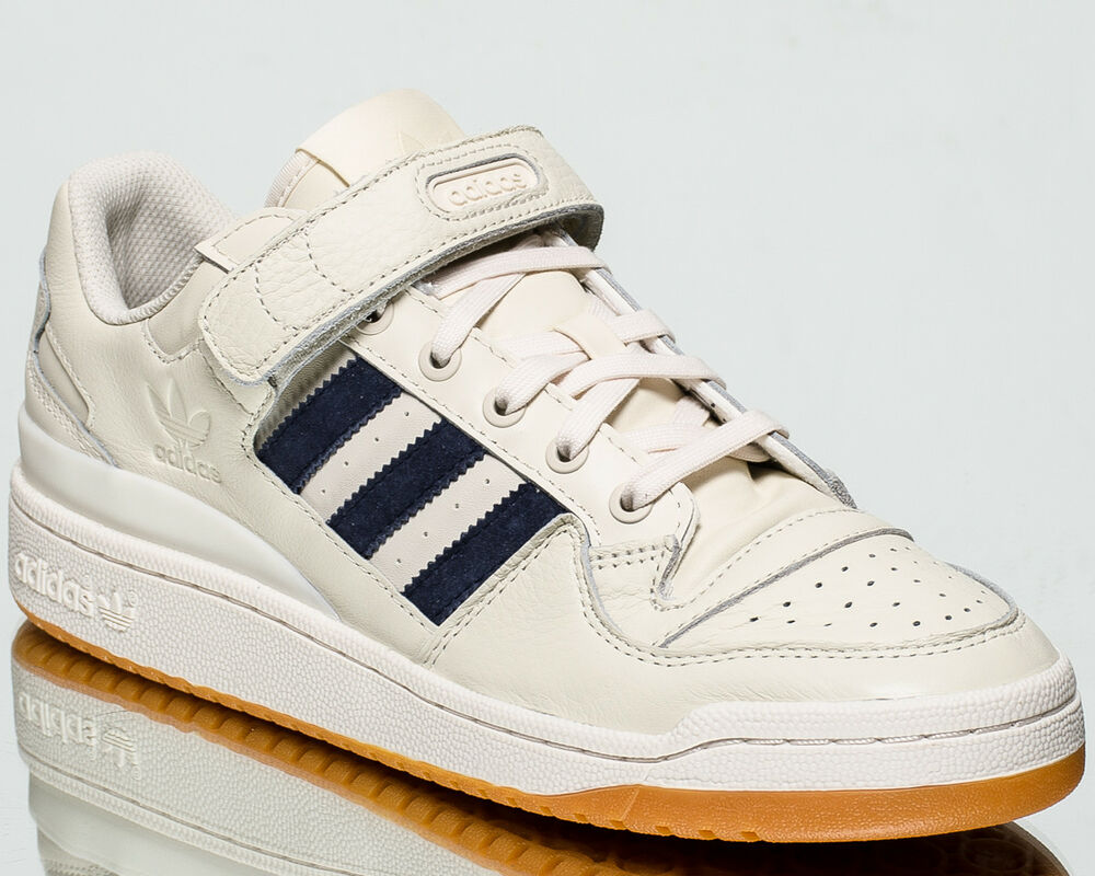 check out 216ca 5f39e Details about adidas Originals Forum Low men casual sneakers NEW chalk  white trace blue CQ0996